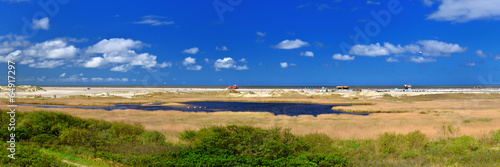 canvas print picture Küstenlandschaft Nordsee
