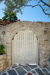 Gate in an arched wall