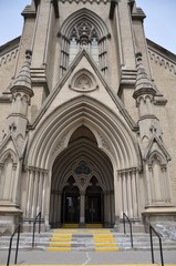 Main door of St. James Cathedral, Toronto