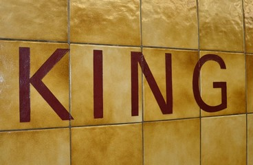 King station sign