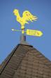 Wetterhahn auf dem Glockenturm in Extertal-Meierberg