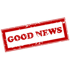 Good news red stamp