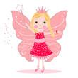 Obrazy na płótnie, fototapety, zdjęcia, fotoobrazy drukowane : Cute fairy