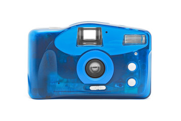 photo camera on film