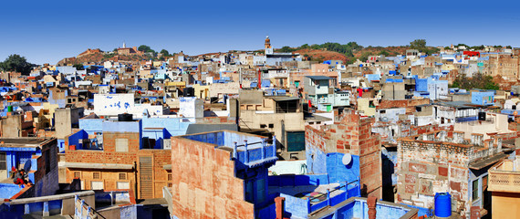 Blue city of Rajastan - Jodhpur, India