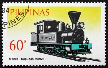 Postage stamp Philippines 1984 Railroad Line Manila-Dagupan, 189