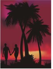 Romantik yaz tatili