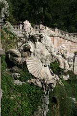 Skulpturen Font de la Cascada