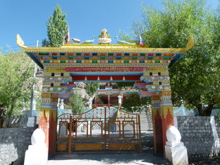 Temple in Kaza