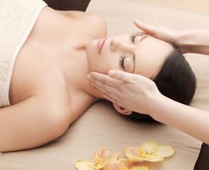 asian woman in spa