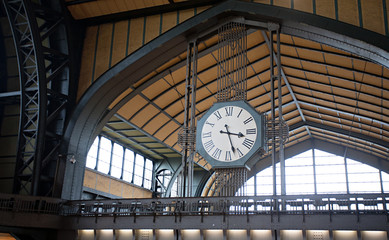 railway station big clock