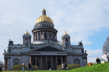 Saint Isaac's Cathedral in St. Petersburg. Russia