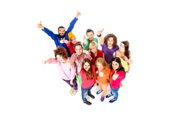 joyful group