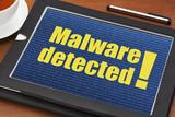 malware detected alert poster