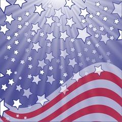 starry flag