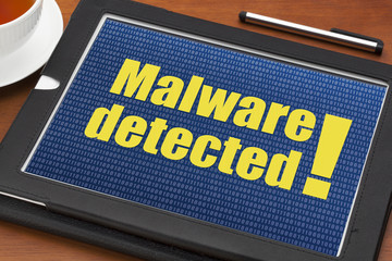 malware detected alert