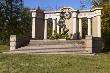 Texas Monument in Vicksburg Military Park