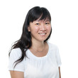 Middle aged Chinese Asian woman portrait