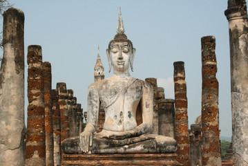 Steinstatue Buddha
