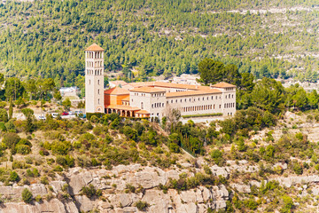 Saint Benedict Monastery in Catalonia near Barcelona