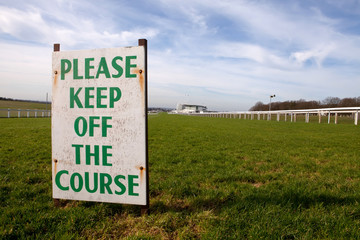 Keep off the Course (Epsom)