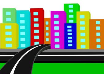 yol ve şehir