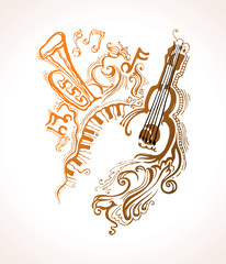 Musical illustrations.