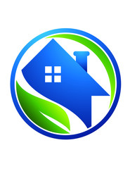 real estate logo global nature health House pro solution