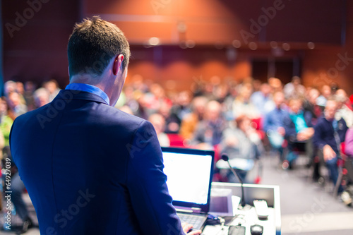 Speaker at Business Conference and Presentation. - 64927039