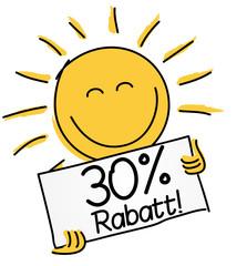 30 % Rabatt