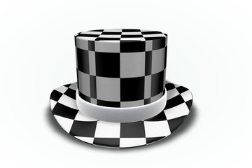 Checker Top Hat