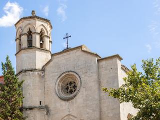 Old Catholic church in Vilafranca del Penedes, Spain