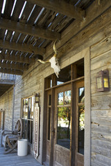 Wild West Hotel Entrance