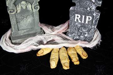 Witches FIngers in Grave
