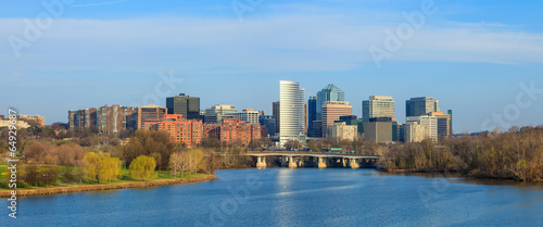 Rosslyn Virginia skyline Washington, DC