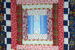 calico patchwork quilt piece