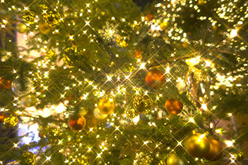 キラキラ クリスマスツリー イメージ