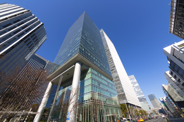 東京八重洲高層ビル街