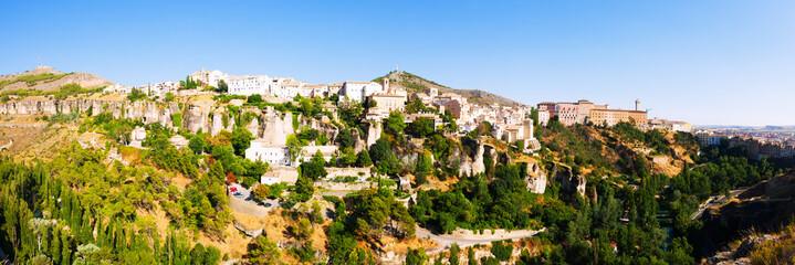 Panoramic view of Cuenca