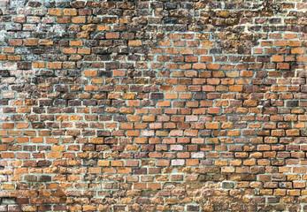 harmonic red brick wall