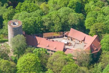 Burg Rabenstein - Fläming - Vogelperspektive