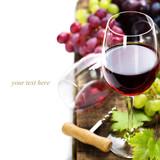 Wine and grape - Fine Art prints
