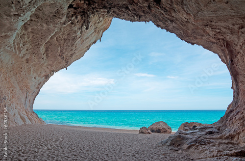 canvas print picture cala luna cave
