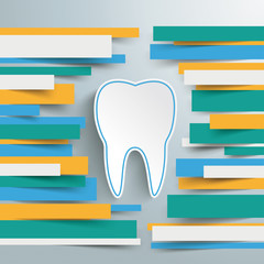 Infographic Brochure Paper Lines Tooth PiAd
