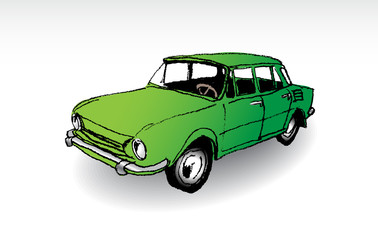 Czechoslovak oldtimer, illustration