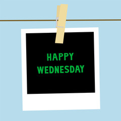 Happy Wednesday note2