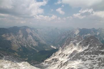 Wild mountain in Jezerce, North Albania