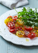 Cherry Tomato and Rocket Salad with Dill and Sesame Seeds