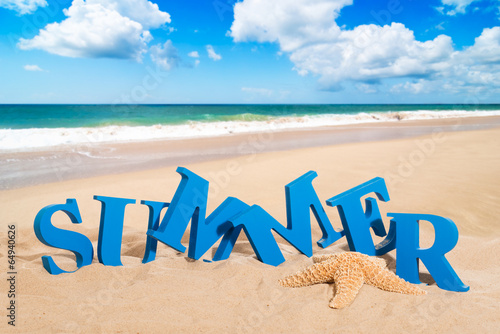 canvas print picture Summer Fun