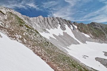 Perfil del Pico Ten. Parque Regional Picos de Europa.